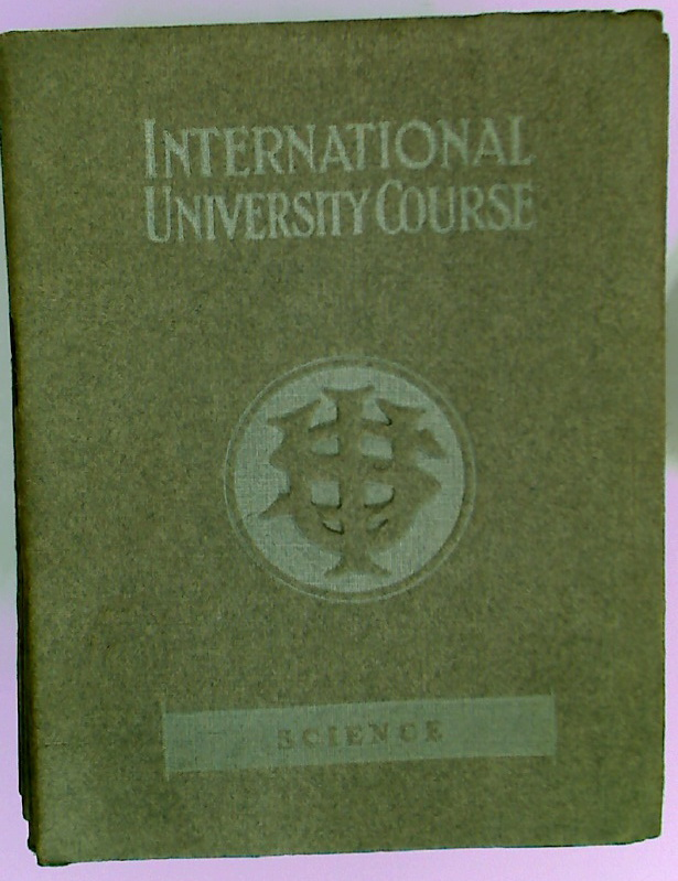 International University Course. Science.