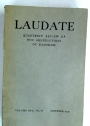 Laudate. The Quarterly Magazine of the Benedictine Community at Nashdom Abbey, Burnham. Volume 17, No 68, December 1939.