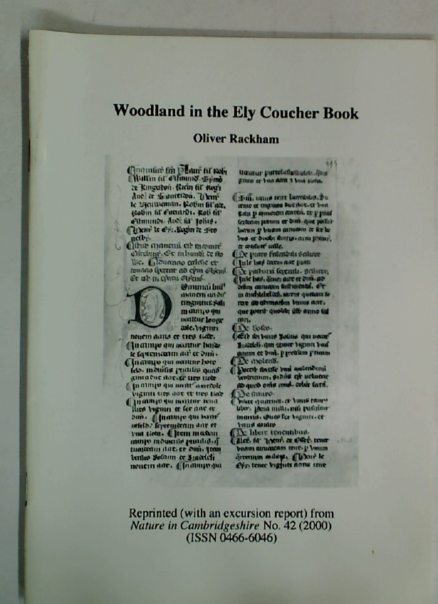 Woodland in the Ely Coucher Book.
