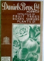 Catalogue of Fruit Trees, Roses, Shrubs, Plants etc. Autumn 1940, Spring 1941.