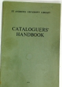 St Andrews University Library. Cataloguers' Handbook.