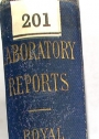 Reports from the Laboratory of the Royal College of Physicians Edinburgh. Volume 1.