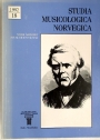Studia Musicologica Norvegiva. Special Issue about Carl Arnold.