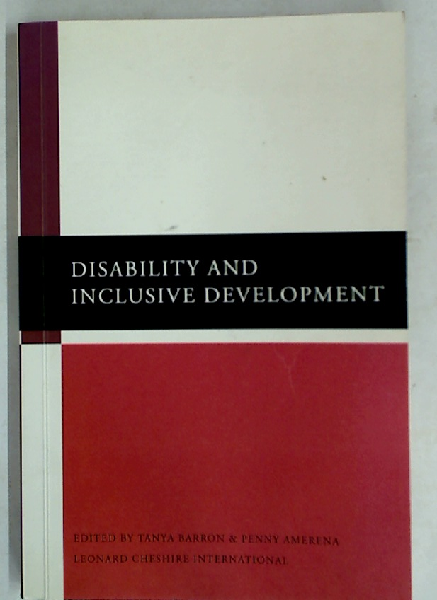 Disability and Inclusive Development.