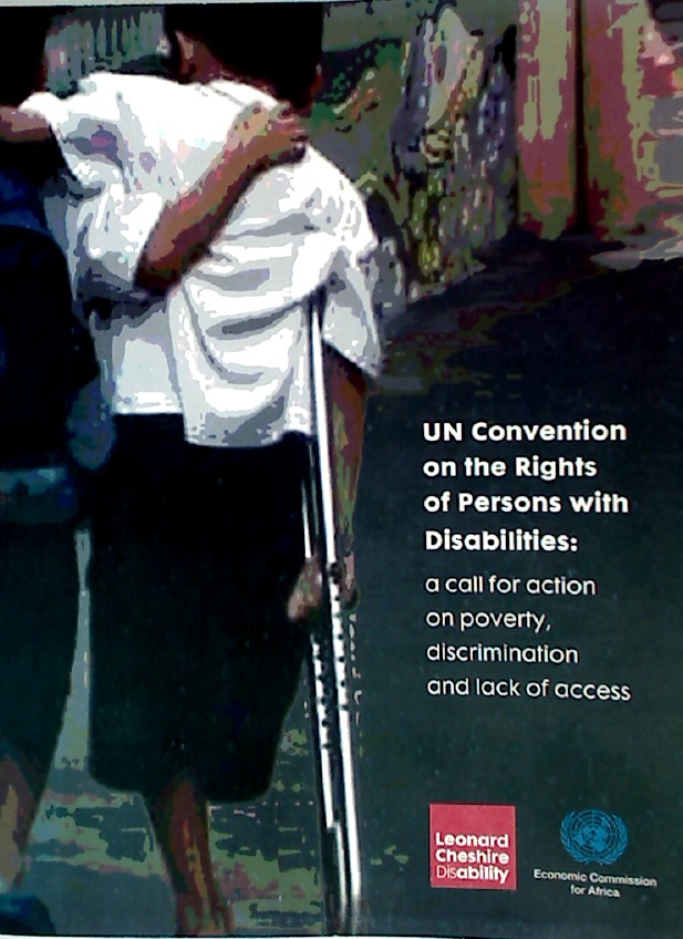 UN Convention on the Rights of Persons with Disabilities: A Call for Action on Poverty, Discrimination, and Lack of Access. Conference by Leonard Cheshire Disability and United Nations Economic Commission for Africa, Addis Ababa, 20 - 22 May 2008.