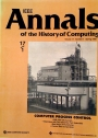 IEEE Annals of the History of Computing. Volume 17, Number 1.