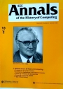 IEEE Annals of the History of Computing. Volume 18, Number 2. Special Issue: 50 Years of Computing.