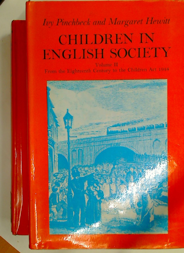Children in English Society. Complete 2 Volume Set.