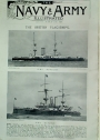 The British Flag-Ships (=The Navy and Army Illustrated. Friday, 12 March 1897)