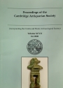 Proceedings of the Cambridge Antiquarian Society. Volume 97 for 2008.