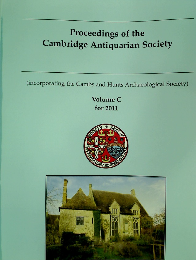 Proceedings of the Cambridge Antiquarian Society. Volume 100 for 2012.