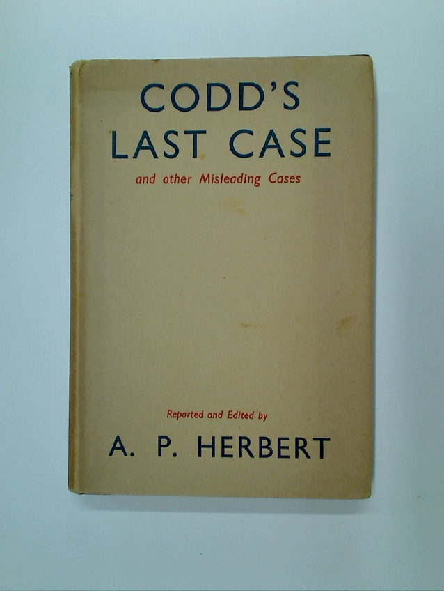Codd\'s Last Case and Other Misleading Cases.