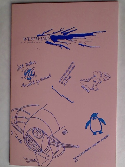 Westwind. UCLA's Journal of the Arts. Spring 1985.