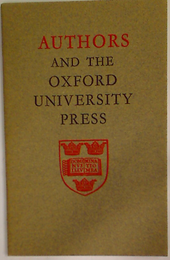 Authors and the Oxford University.