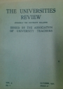 The Universities Review (Formerly the University Bulletin) Volume 4, No. 1.