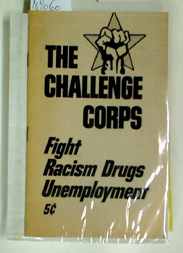 Fight Racism, Drugs, Unemployment.