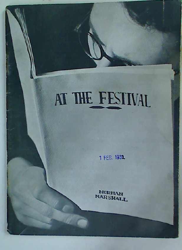 The Festival Theatre Programme. February 1st 1932.