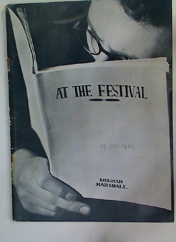 The Festival Theatre Programme. January 11th 1932.