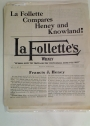 La Follette's Weekly. Volume 6, Number 40.