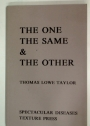The One, the Same, and the Other. A Poetic for Events.