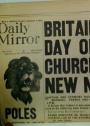 Britain's First Day of War. Daily Mirror, Monday September 4 1939.
