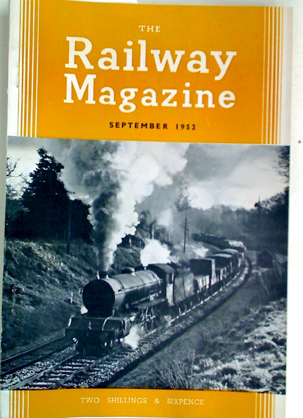 The Hitchin - Cambridge Line. Essay in: The Railway Magazine, September 1952.