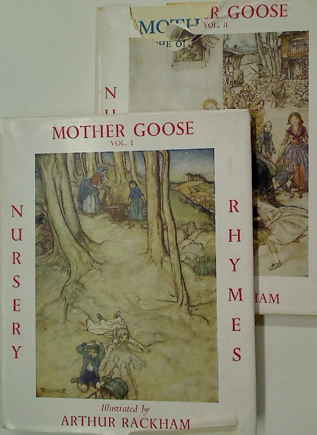 Mother Goose. The Old Nursery Rhymes. Volumes 1 and 2.