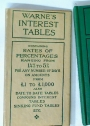 Warne's Interest Tables.