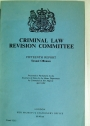 Criminal Law Revision Committee: Fifteenth Report: Sexual Offences.