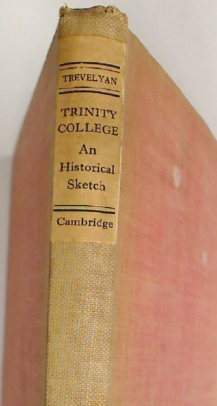 Trinity College. An Historical Sketch.