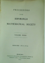 Proceedings of the Edinburgh Mathematical Society. Volume 32, Session 1913 - 1914.