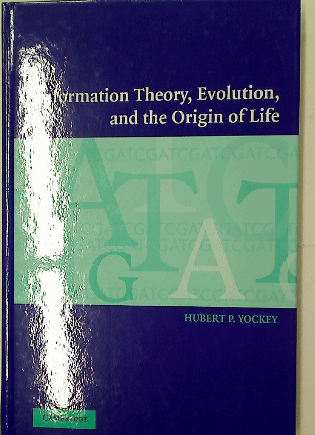 Information Theory, Evolution, and the Origin of Life.
