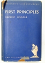 First Principles.