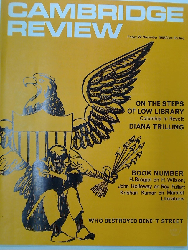 Cambridge Review. A Journal of University Life and Thought. Friday 22 November 1968.