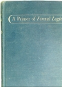 A Primer of Formal Logic.