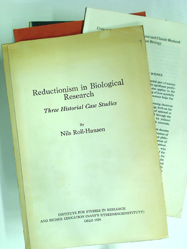 Reductionism in Biological Research. Three Historical Case Studies.