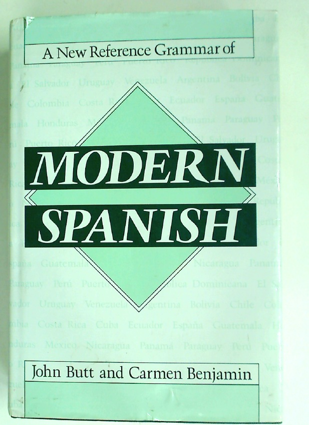A New Reference Grammar of Modern Spanish.