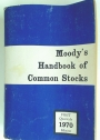 Moody's Handbook of Common Stocks. First Quarterly Edition 1970.