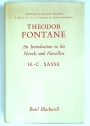 Theodor Fontane: An Introduction to the Novels and Novellen.
