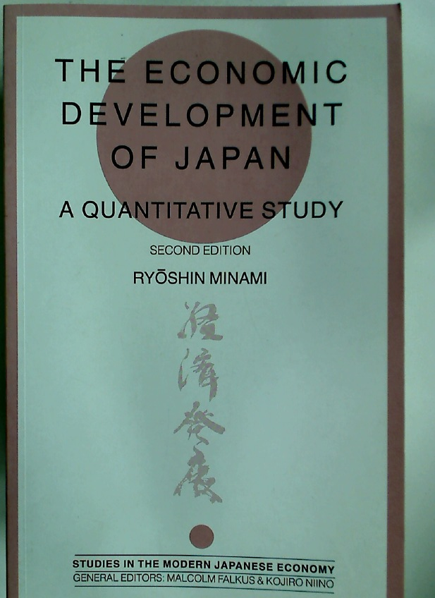 The Economic Development of Japan: A Quantitative Study.