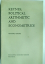 Keynes, Political Arithmetic and Econometrics.