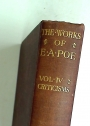 The Works of Edgar Allan Poe. Standard Edition. Volume Four Only.