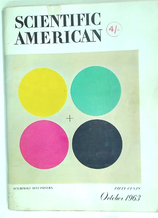 Scientific American. Volume 209, No. 4 October 1963.