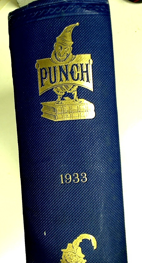 Punch, or The London Charivari. Volumes 184 and 185 for 1933.
