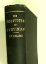 The Institutes of Justinian with English Introduction, Translation and Notes.