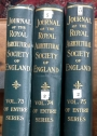 The Journal of the Royal Agricultural Society of England. Volumes 73 (1912) - Volume 75 (1914)