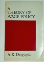 A Theory of Wage Policy.