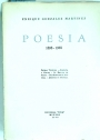 Poesia, 1898 - 1938. Volume 3 ONLY.