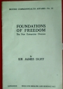 Foundations of Freedom. The New Universities Overseas.