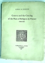 Geneva and the Coming of the Wars of Religion in France, 1555 - 1563.